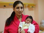 Denis Samo se narodil Marii Samové z Ústí nad Labem 9.ledna ve 3.52 hod. v ústecké porodnici. Měřil 48 cm a vážil 3 kg