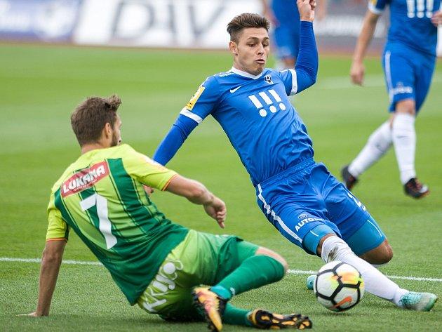 Utkání 1.kolo druhé fotbalové ligy (Fortuna národní liga - FNL): MFK Vítkovice vs. Ústí nad Labem, 28.července vOstravě.