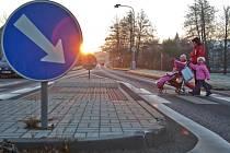 V roce 2007 dostala na přechod pro chodce v Klášterci nad Ohří potřebné finanční prostředky Základní škola Krátká.