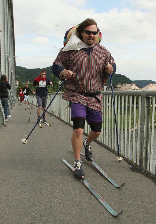 Letní běh na lyžích v Ústí nad Labem, 2009