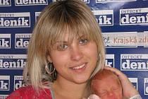 Michaela Kršňáková porodila v ústecké porodnici dne 27. 9. 2009 (2.53) dceru Karolínu (42 cm, 1,8 kg).