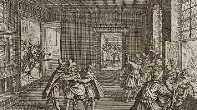 Pražská defenestrace sice podpálila onen příslovečný sud střelného prachu, kterým střední Evropa roku 1618 byla, ale krvavému konfliktu se dalo zabránit stejně málo, jako o 296 let později, roku 1914.Všichni už jen čekali na záminku.