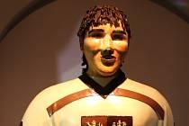 Čokoládový Jaromír Jágr v táborském muzeu