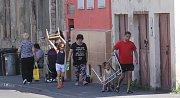 Zájemci se vypravili poznat proslulé ústecké ghetto Předlice s rodákem Karlem Punčochářem