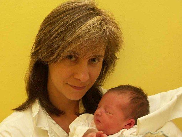 Lucií Abrahamová s Eliškou, 10.6.2008
