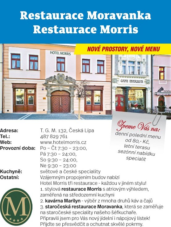 Hospůdky 2017 - Severní Čechy