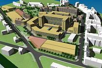 Multifunkční centrum s celouniverzitní knihovnou bude už za třináct měsíců sloužit studentům i veřejnosti.