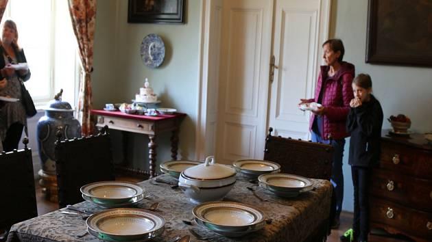 Prohlídky zámku spojené s ochutnávkou oblíbených pokrmů Žofie Chotkové.