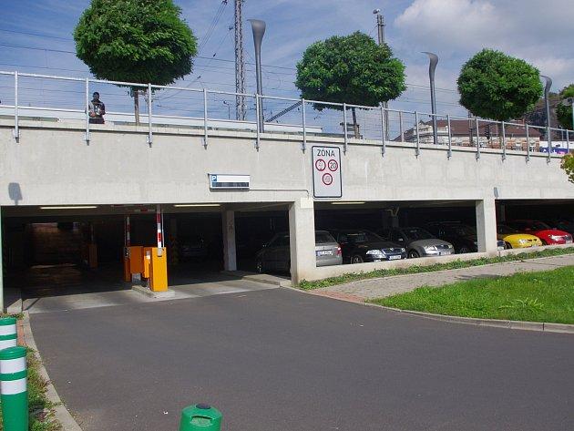 Parkoviště Zanádraží Ústí nad Labem