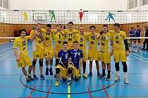 Junioři SK Volejbal Ústí nad Labem.