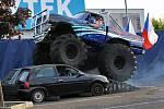 Kaskadérská a Monster Truck Show v Ústí nad Labem