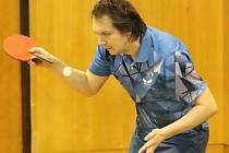 Radek Luňák, stolní tenis Ústí nad Labem. Foto: Deník/Rudolf Hoffmann