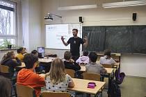 Vzdělávací akce Exit tour na Gymnáziu Jateční.