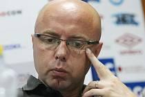 Předseda představenstva FK Ústí Jiří Dušek. Deník/ Karel Pech