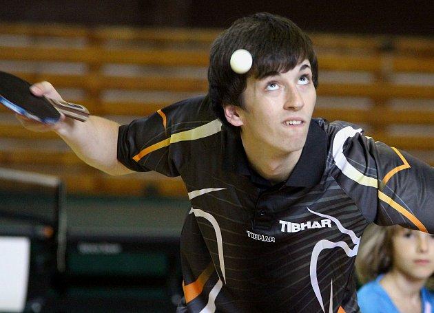 Sedmnáctiletý Jakub Seibert v dresu Ústí.