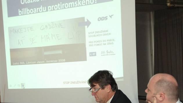 Hejtman Šulc představil svou volební kampaň.