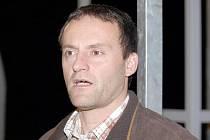 Trenér ústeckých hokejbalistů Patrik Cerman.