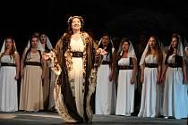 Eva Urbanová jako kněžna Libuše