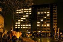 Vysokoškolské koleje K3 na Klíši při jedné z minulých akcí.