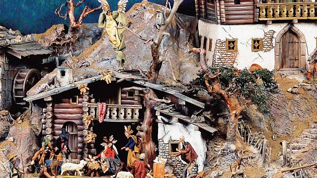 Fascinující svět betlémů představuje výstava v Městském muzeu.