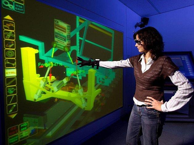 Cílem jednoho z mnoha projektů fakulty je také modernizace studijního zázemí.