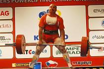 Silový trojbojař Petr Theuser ovládl mistrovství Evropy v Plzni.