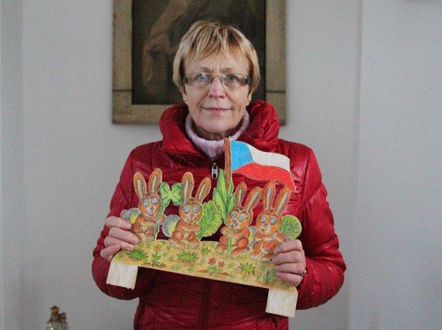 Netradiční betlém má Brná, místní část ústecké čtvrti Střekov. Foto: Deník/Radek Strnad