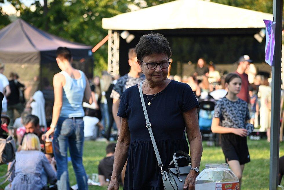 Festival Nádhera ve Vrchlického sadech na ústecké Klíši