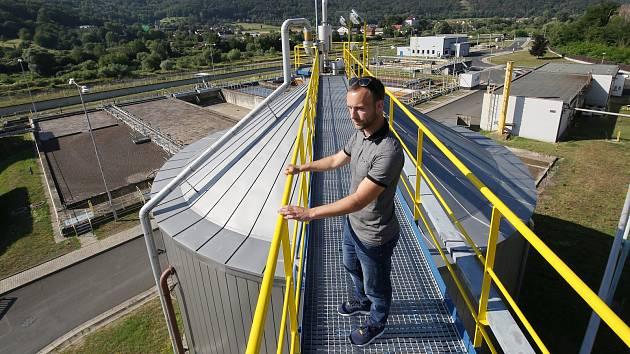Jedna z největších čistíren odpadních vod v republice je v Neštěmicích na Ústecku. Čistí vody pro téměř celé Ústí.