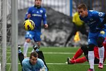 Ani dobrá hra v prvním poločase nepřinesla ústeckým fotbalistům štěstí. Liberec ovládl utkání 4:0.