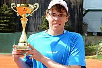 Ústecký tenisový turnaj vyhrál Matěj Vocel ze Sparty.