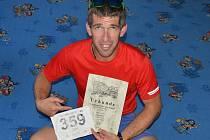 Jan Adamec se zařadil mezi padesát nadšenců, kteří pokořili sto mil v Alpách.