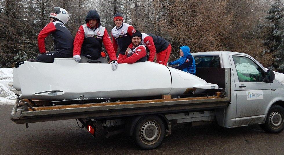 Závody Světového poháru bobistů v německém Altenbergu