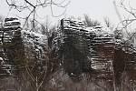 Sníh na Ústecku, středa 5. února