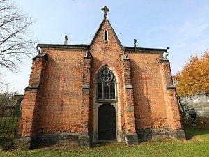 Hrobka rodu Chotků.