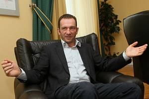 Interview s Alešem Grafem vznikalo v sídle společnosti v Ústí nad Labem.