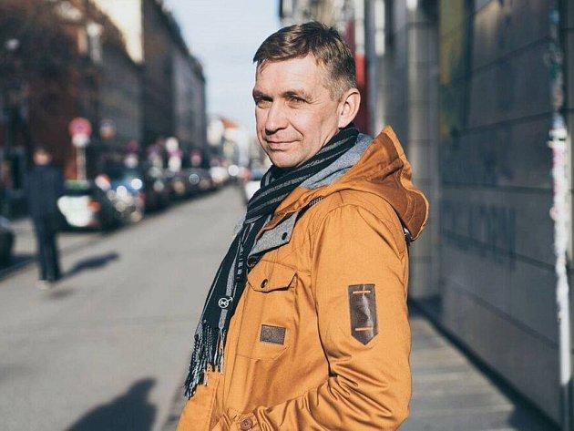 Radek Fridrich, básník a spisovatel a učitel UJEP.
