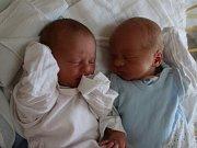 Radim Frýba a Rozálie Frýbovi  se narodili v ústecké porodnici 20.6. 2017(9.29 a 9.28) Michaele Všetičkové. Měřili 48 a 44 cm, vážili 2,48 a 2,07 kg.