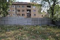Vyloučená lokalita v Ústí nad Labem, Předlicích. Ulice Sklářská