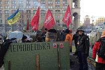 Ústečan fotil na kyjevském Majdanu revoluci.
