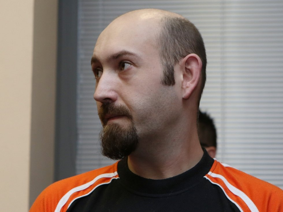Stanislav Horčík u soudu.