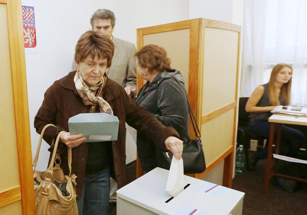 Volby v ústeckém 17. centrálním obvodu Bukov