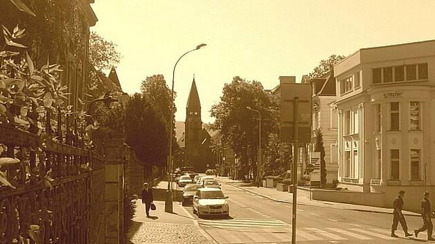 2010: Churchillova ulice, dříve Bismarckova.
