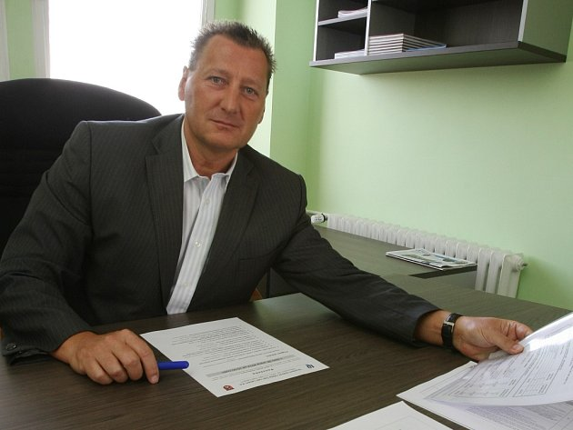 Ředitel ústeckého Dopravního podniku Petr Koreň.