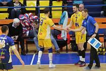 Volejbalový zápas Ústí.