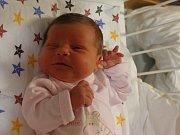 Rozálie Zubatá se narodila v ústecké porodnici 21.11.2016 (16.06) Pavlíně Jelenové. Měřila 48 cm, vážila 3,52 kg.