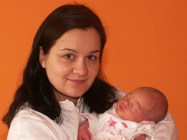 Jindřiška Šedivcová s Annou, 5.1.2008