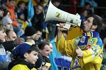 Ústečtí fanoušci poženou v semifinále prvoligové soutěže s Jihlavou svůj tým kupředu.