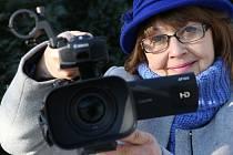 Úspěšná ústecká filmařka Alena Krejčová.