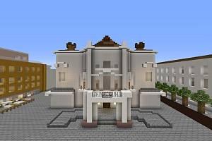 Šestice nadšenců staví Ústí nad Labem ve známé hře Minecraft.